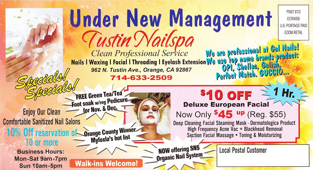 Nail spa coupons